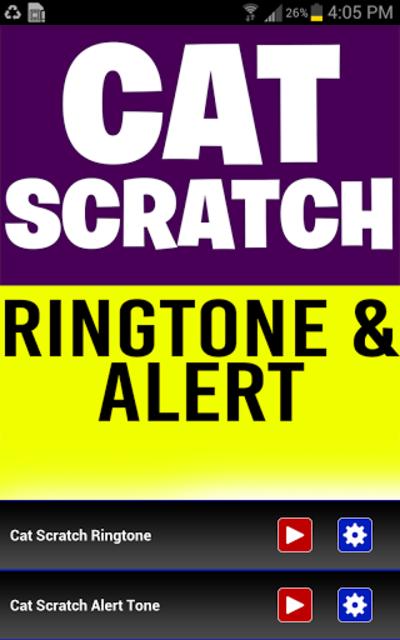 Cat Scratch Fever Ringtone screenshot 1