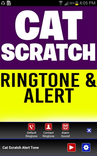 Cat Scratch Fever Ringtone screenshot 2