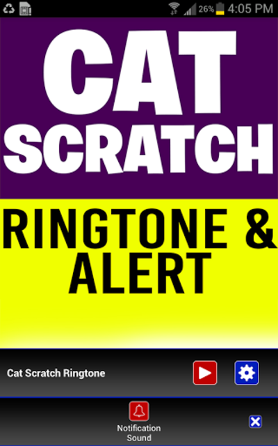 Cat Scratch Fever Ringtone screenshot 3
