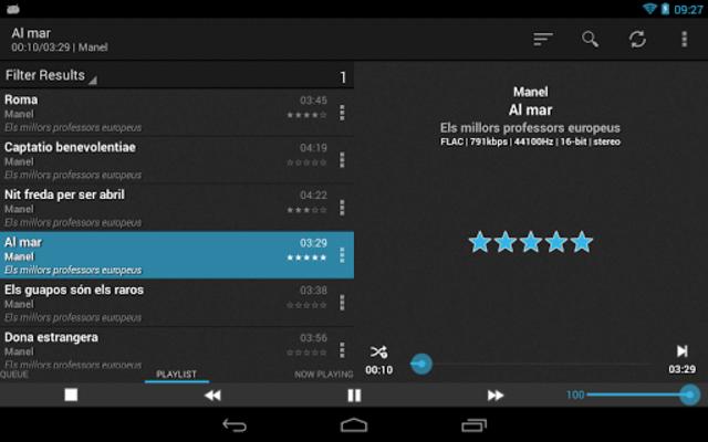 foobar2000 controller PRO screenshot 11