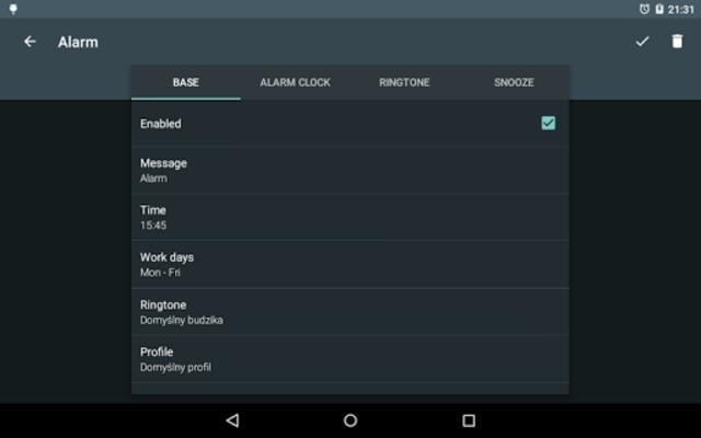 Alarm clock PRO screenshot 7