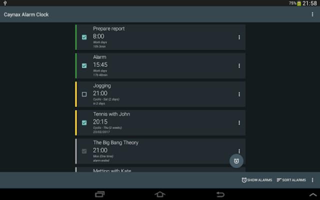 Alarms, tasks, reminder, calendar - all in one screenshot 6
