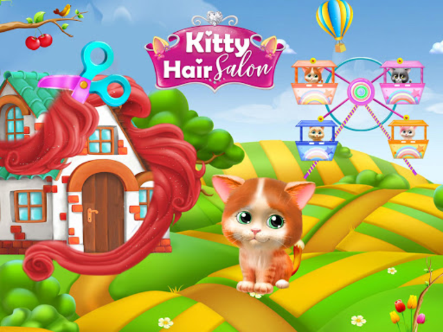 Pet Kitty Hair Salon Hairstyle Makeover screenshot 4