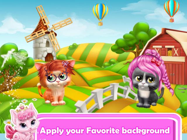 Pet Kitty Hair Salon Hairstyle Makeover screenshot 5