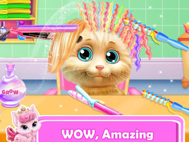 Pet Kitty Hair Salon Hairstyle Makeover screenshot 7