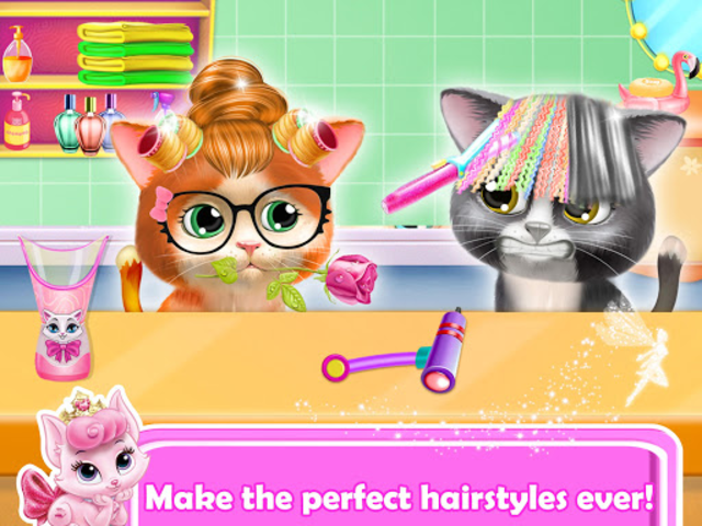 Pet Kitty Hair Salon Hairstyle Makeover screenshot 14