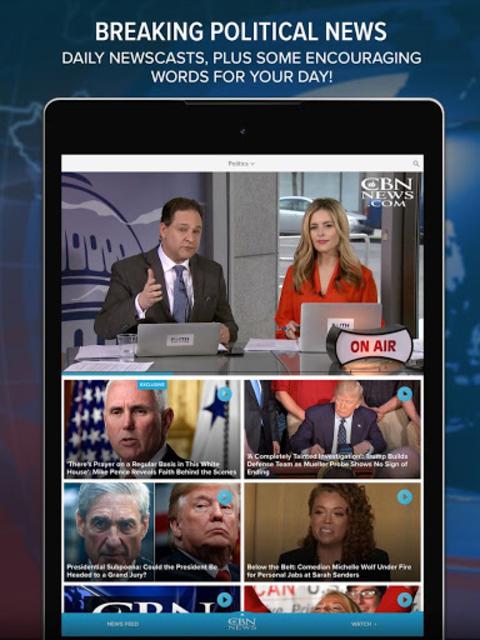 CBN News - Balanced Reporting & Breaking Headlines screenshot 9