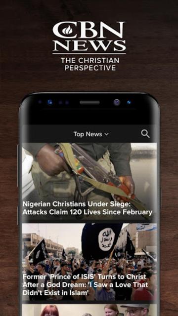 CBN News - Balanced Reporting & Breaking Headlines screenshot 1