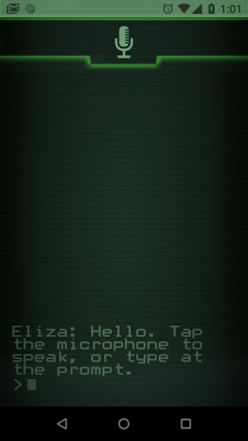 Eliza screenshot 1