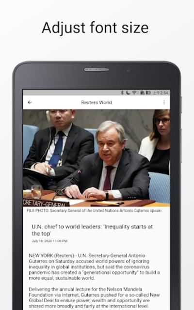 World News - International News & Newspaper screenshot 1