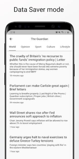 World News - International News & Newspaper screenshot 7