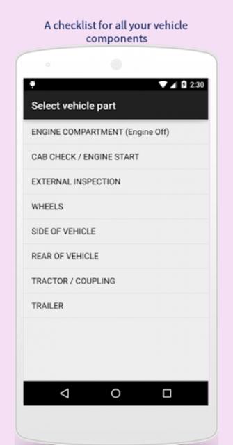 CDLChecklist screenshot 2