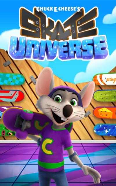 Chuck E.'s Skate Universe screenshot 1