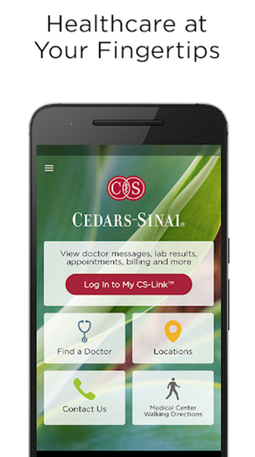 Cedars-Sinai screenshot 1