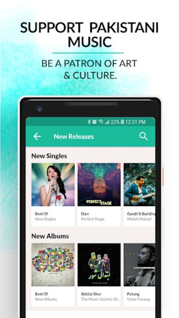 Patari: listen and download Pakistani music FREE screenshot 5