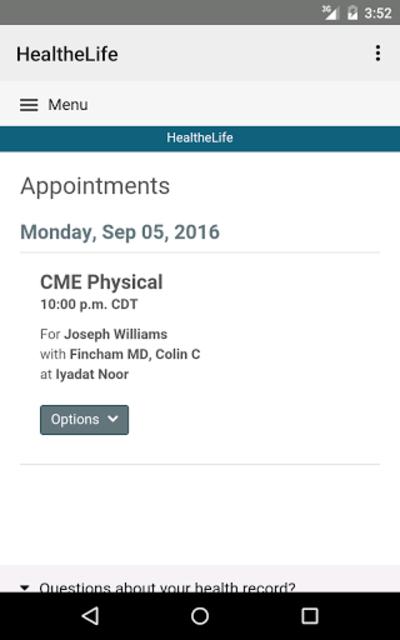 HealtheLife screenshot 15