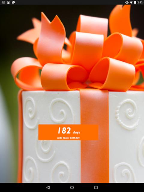 Birthday Countdown Widget screenshot 4