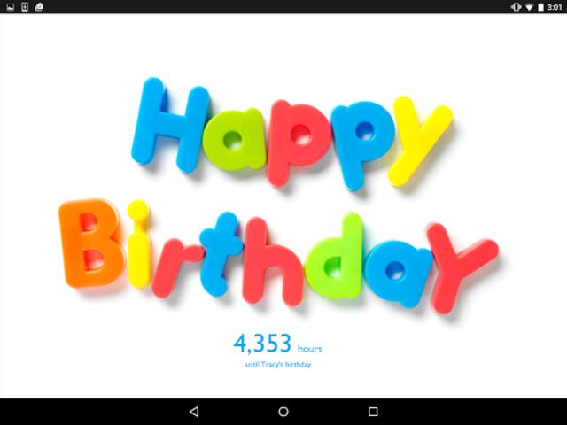 Birthday Countdown Widget screenshot 7
