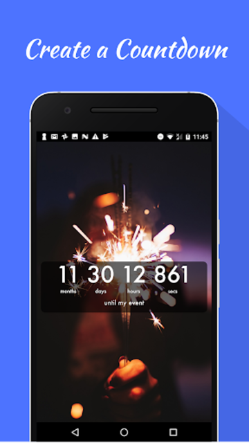 Countdown Widget screenshot 1