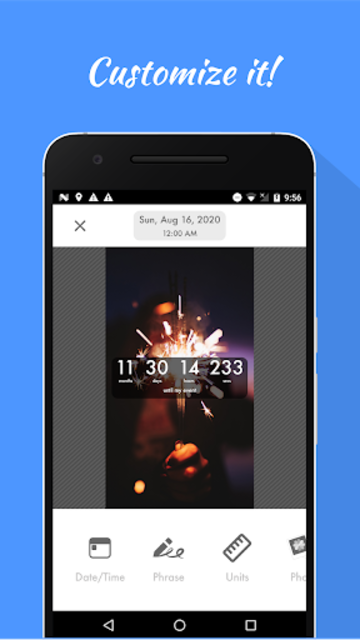 Countdown Widget screenshot 2