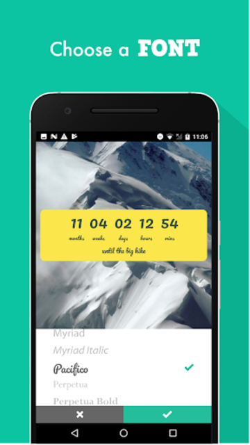 Countdown Widget screenshot 6