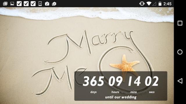 Wedding Countdown Widget screenshot 5
