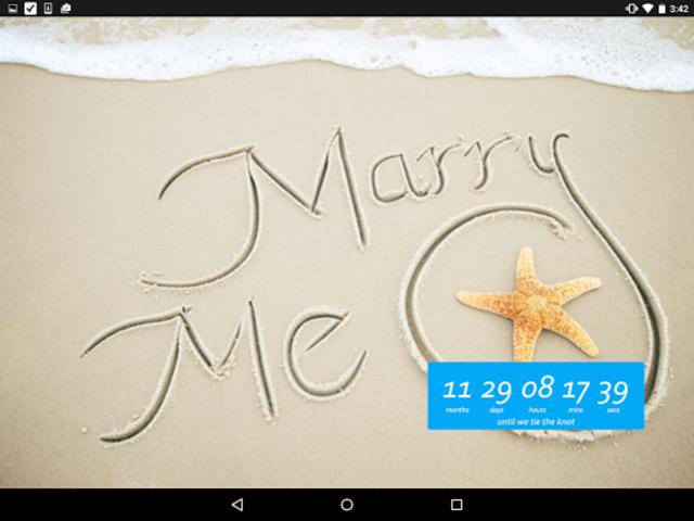 Wedding Countdown Widget screenshot 12