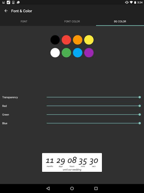 Wedding Countdown Widget screenshot 14
