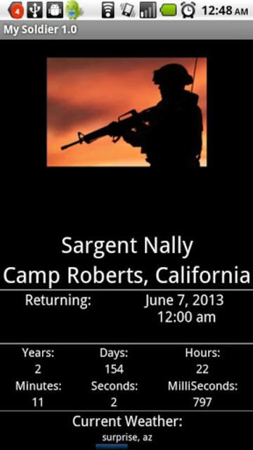 My Soldier screenshot 1