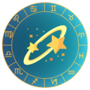 Icon for Astrology & Zodiac Horoscope. Love Compatibility