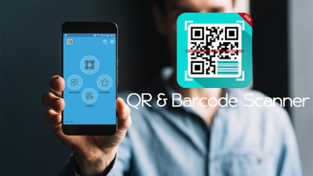 Digital Barcode Reader: QR Code Scanner 2019 screenshot 1