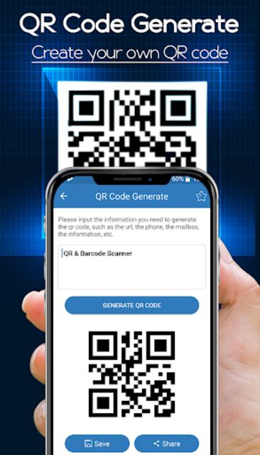 Digital Barcode Reader: QR Code Scanner 2019 screenshot 8