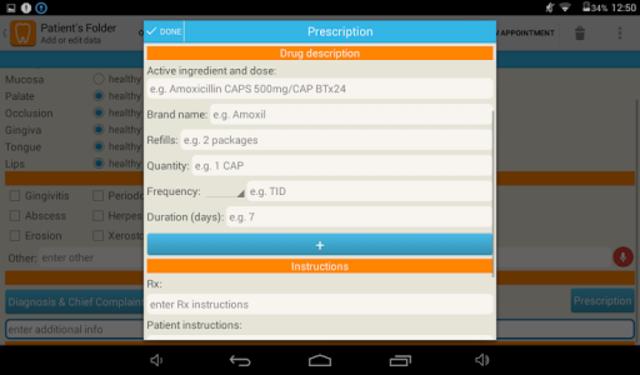 Cusp Dental Clinic Software screenshot 18
