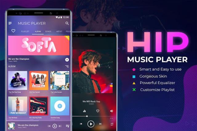 HIP Music: Music Player – Music Equalizer screenshot 1