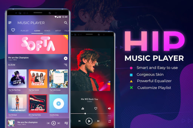 HIP Music: Music Player – Music Equalizer screenshot 7