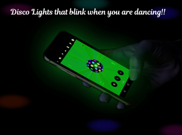 Dance Light 💃 Flashlight with Shake Light & Music screenshot 1