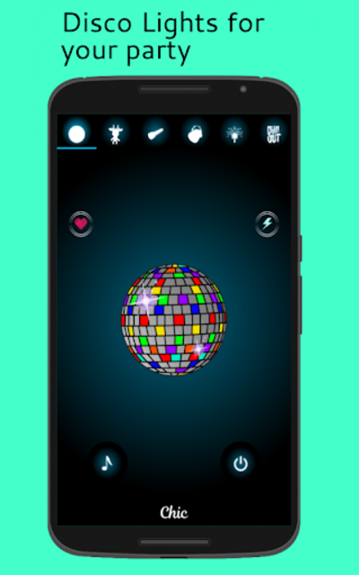 Dance Light 💃 Flashlight with Shake Light & Music screenshot 4