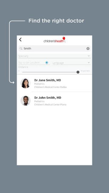 Children's Health Mobile App screenshot 6