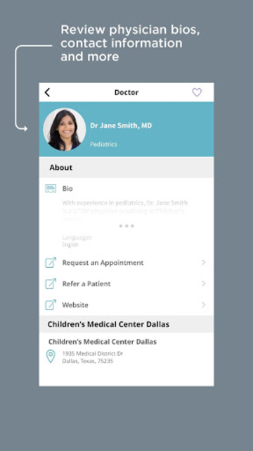 Children's Health Mobile App screenshot 7