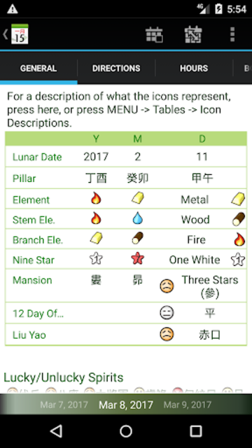 Chinsoft Lunar Calendar screenshot 4