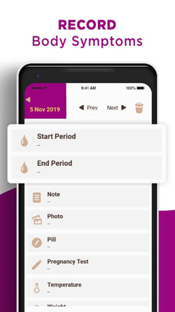 My Days X - Ovulation Calendar & Period Tracking screenshot 3