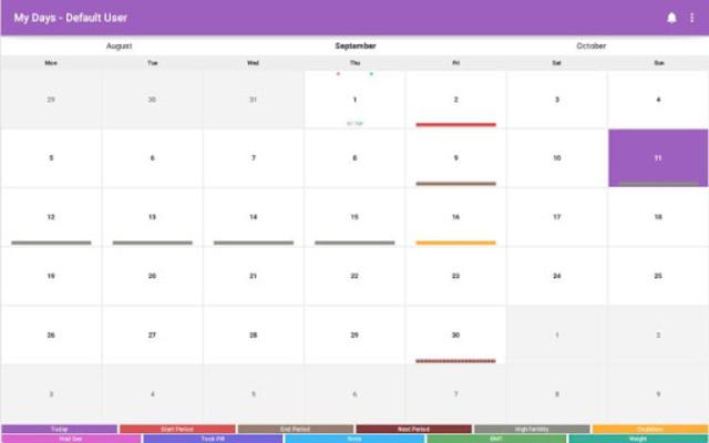 My Days - Ovulation Calendar & Period Tracker ™ screenshot 8