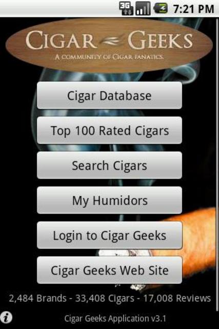 Cigar Geeks screenshot 1