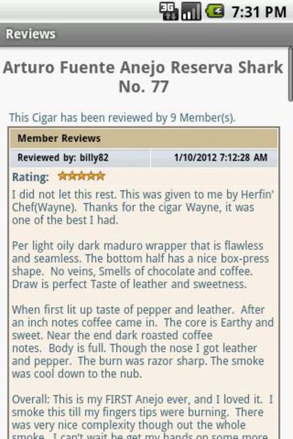 Cigar Geeks screenshot 3
