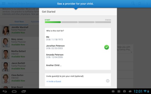Amwell for Cigna Customers screenshot 5