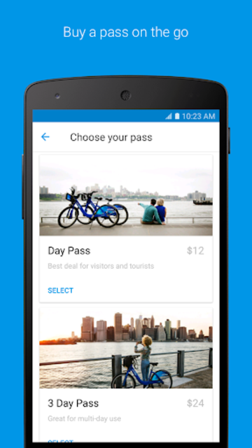 Citi Bike screenshot 1