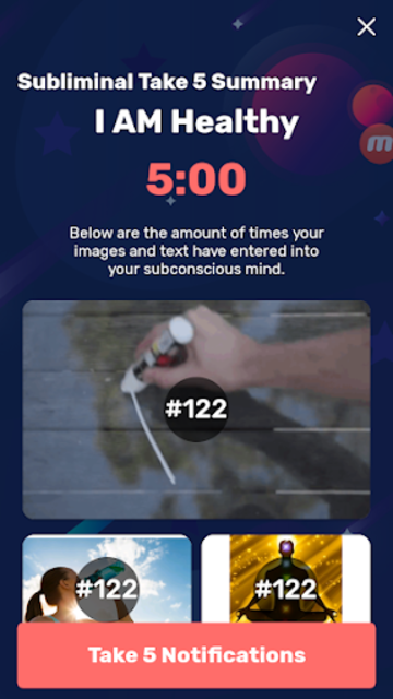 Subliminal Vision Boards®️ App -  7 Day Free Trial screenshot 7