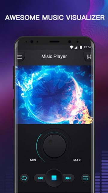 Free Music - MP3 Player, Equalizer & Bass Booster screenshot 1