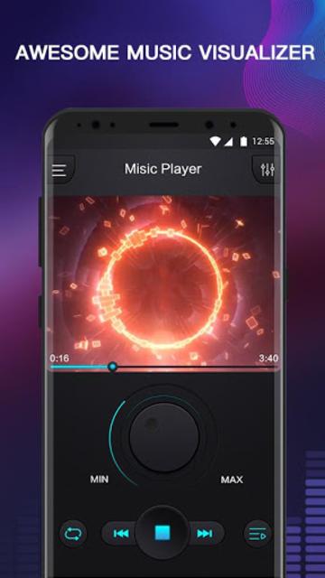 Free Music - MP3 Player, Equalizer & Bass Booster screenshot 2