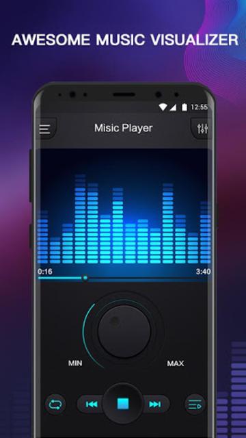 Free Music - MP3 Player, Equalizer & Bass Booster screenshot 3
